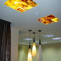 techo con iluminación