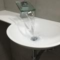 Detalle lavabo de corian