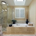 El mármol para el baño