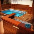 Suministro y colocación de tarima en piscina