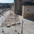 Plaza en el centro histórico de Horcajo de Santiago, Cuenca.