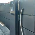 Puerta batiente modelo bandeja