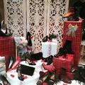 Escaparate de Navidad zapateria