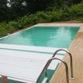 Instalación de cubiera automática en piscina