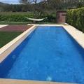piscina y espacio exterior