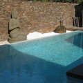 Buda en piscina
