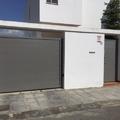 Puertas batientes de aluminio