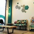 Sala de espera en Clínica