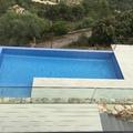 Jardin, tarima tecnológica, piscina