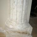 Imitacion Marmol base columna escayola