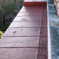 Impermeabilizacion autoprtegida con aluminio gofrado rojo