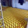 Implantacion de suelo radiante en vivienda existente