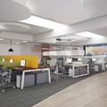 Falso techo en oficina