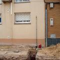 Instalación de acometida de gas natural para vivienda.