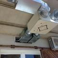 Instalación de conductos de aire acondicionado