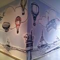 Instalación de Fotomural dibujado por el cliente