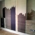 Instalación de Fotomural en fondo de Dormitorio