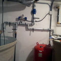 Instalación de grupo de presión con bombas sumergibles