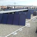 Instalación de paneles solares para ACS