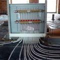 Instalación del registro para suelo radiante