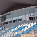 Alicante -Instalación en tribuna de campo de fútbol