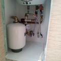 Instalación hidraulica de calentador eléctrico.