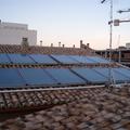 Instalación solar térmica para apoyo a calefacción