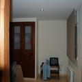 interior de la casa obra vista