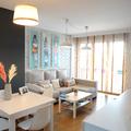 Decoración/restyling de un salón de 18 m2.