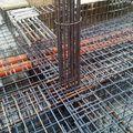 la losa de hierro que montamos en un bloque que estamos haciendo en el cruce del raal