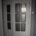 Lacado de puertas.