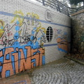 Limpieza de graffitis ( antes )