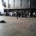limpieza escenario amstel 2013