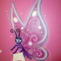 Mariposa para el mural de campanilla
