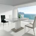 Mesa de comedor blanca