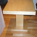 Mesa de haya segun diseño