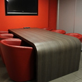mesa, sala de reuniones