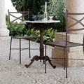 Mesa y sillas de forja artesanal