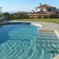 microcemento aplicacion en escalera, interior y exterior de piscina