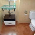 microcemento en lavabo