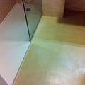 microcemento suelo baño