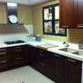 microemento en paredes de cocina
