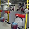 montage de cuarto de calderas a gas natural