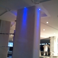 Montaje de LED en columnas