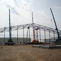 Montaje estructura nave