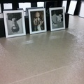 moqueta ferial en exposición fotográfica