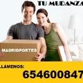 MUDANZAS EN MADRID(654600847) PORTES 40€