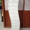 mueble auxiliar de diseño lacado