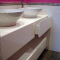 Mueble baño a medida Alto brillo