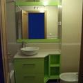 Mueble lacado en verde pistacho